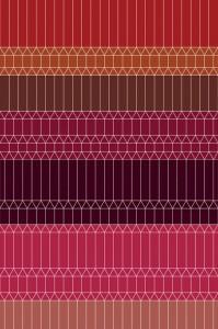 Zigzag Red 2x3