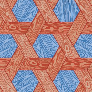 studio-job_hexagon-red-blue_repeat